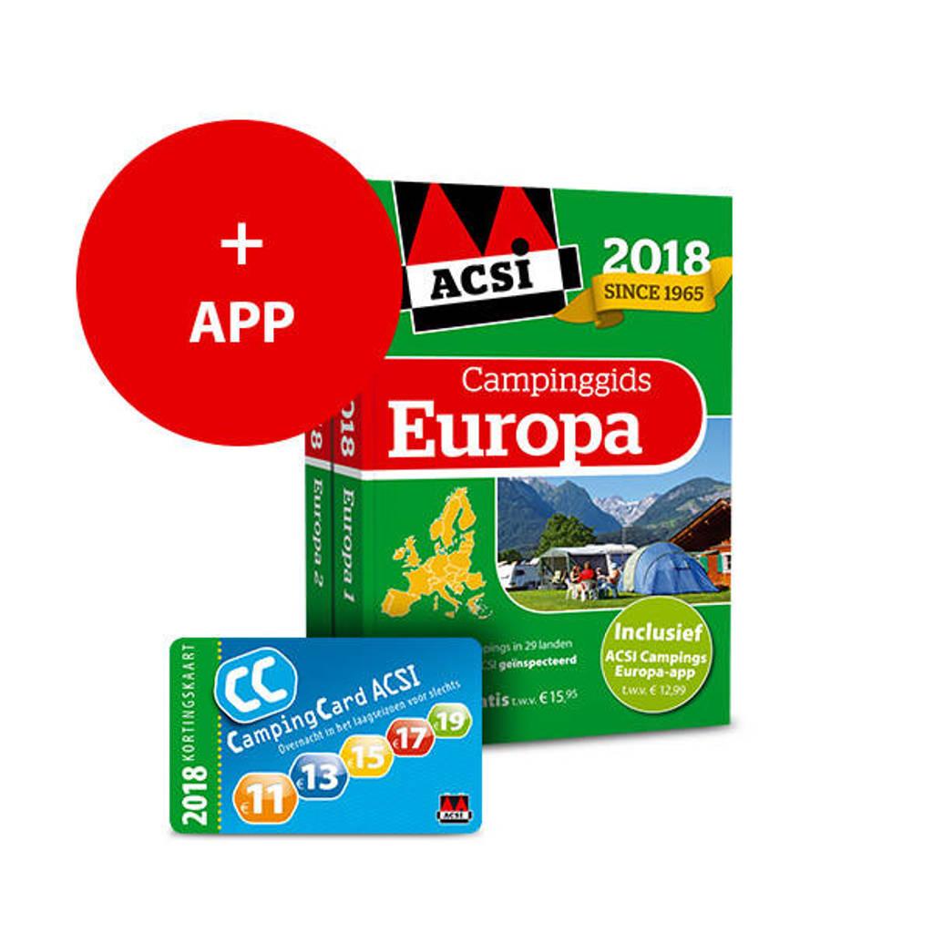 ACSI Campinggids: ACSI Campinggids Europa + app 2018 - ACSI