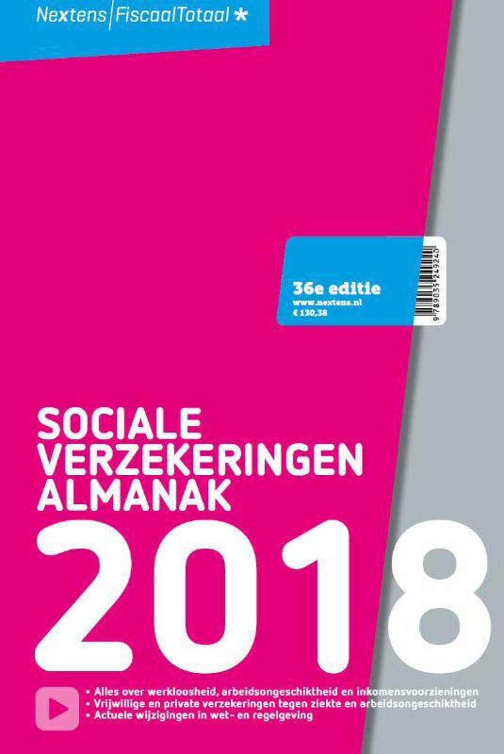Sociale Verzekeringen Almanak 2018 - J.B. Tappèl