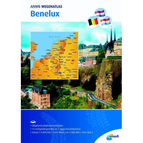 Wegenatlas Benelux - ANWB kopen