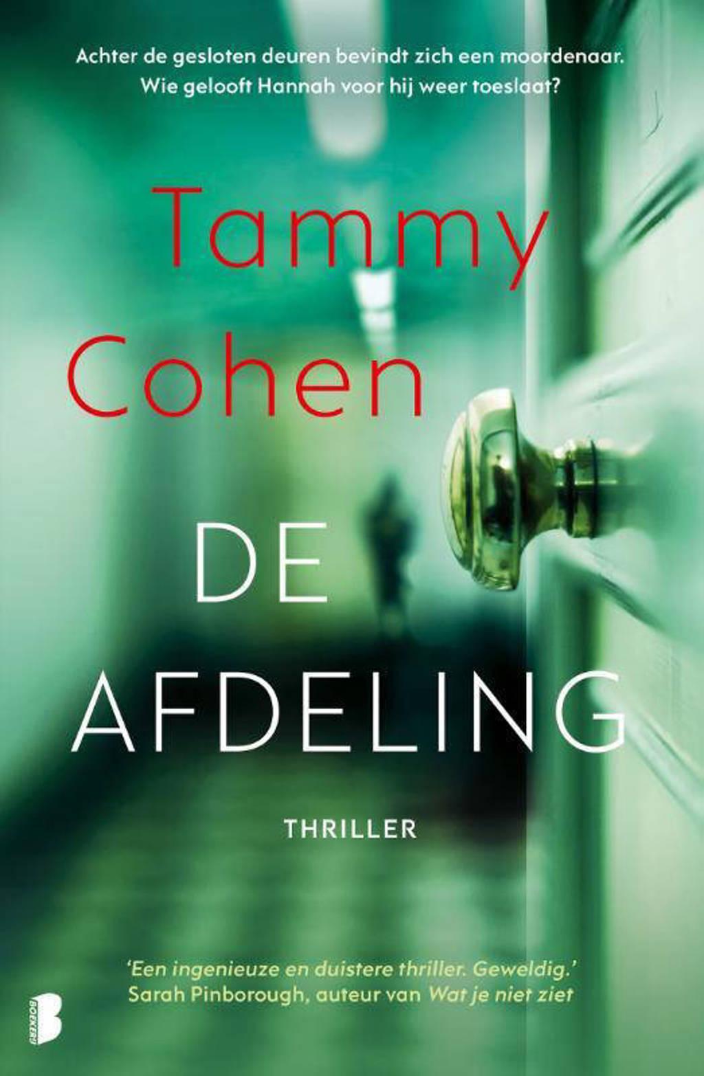 De afdeling - Tammy Cohen