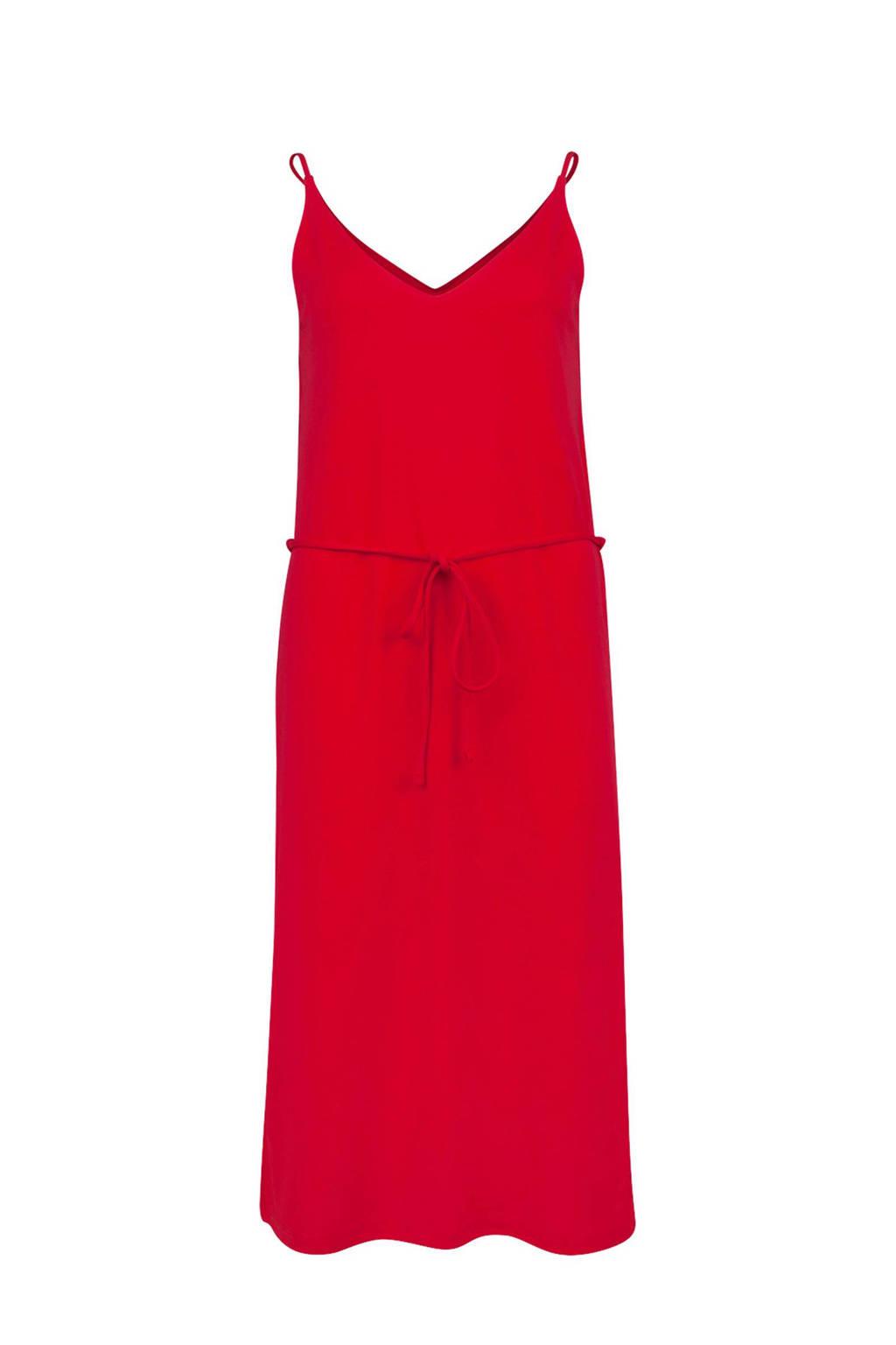 WE Fashion jurk rood, Rood