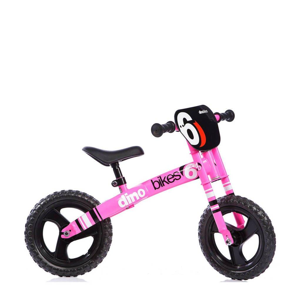 Dino Bikes runner loopfiets, Roze