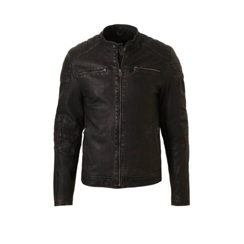 Jacket965 leren jas