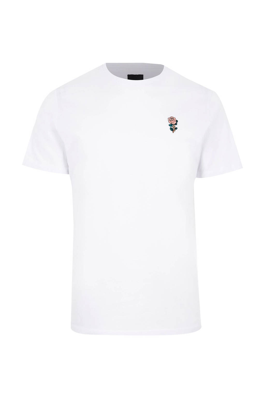 River Island slim fit T-shirt, Wit