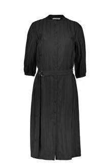 blouse jurk zwart