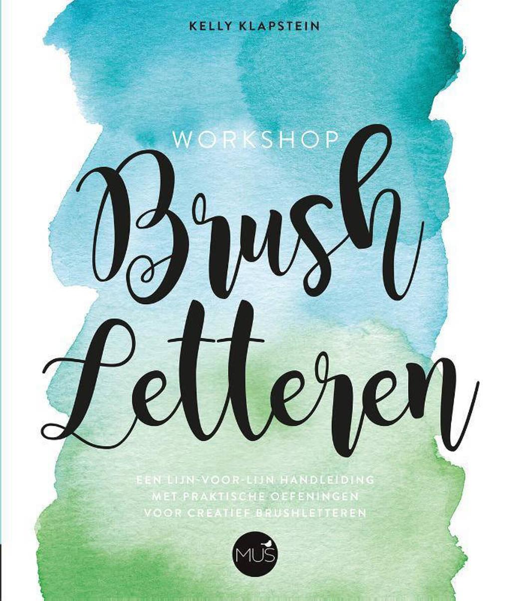Workshop Brush letteren - Kelly Klapstein