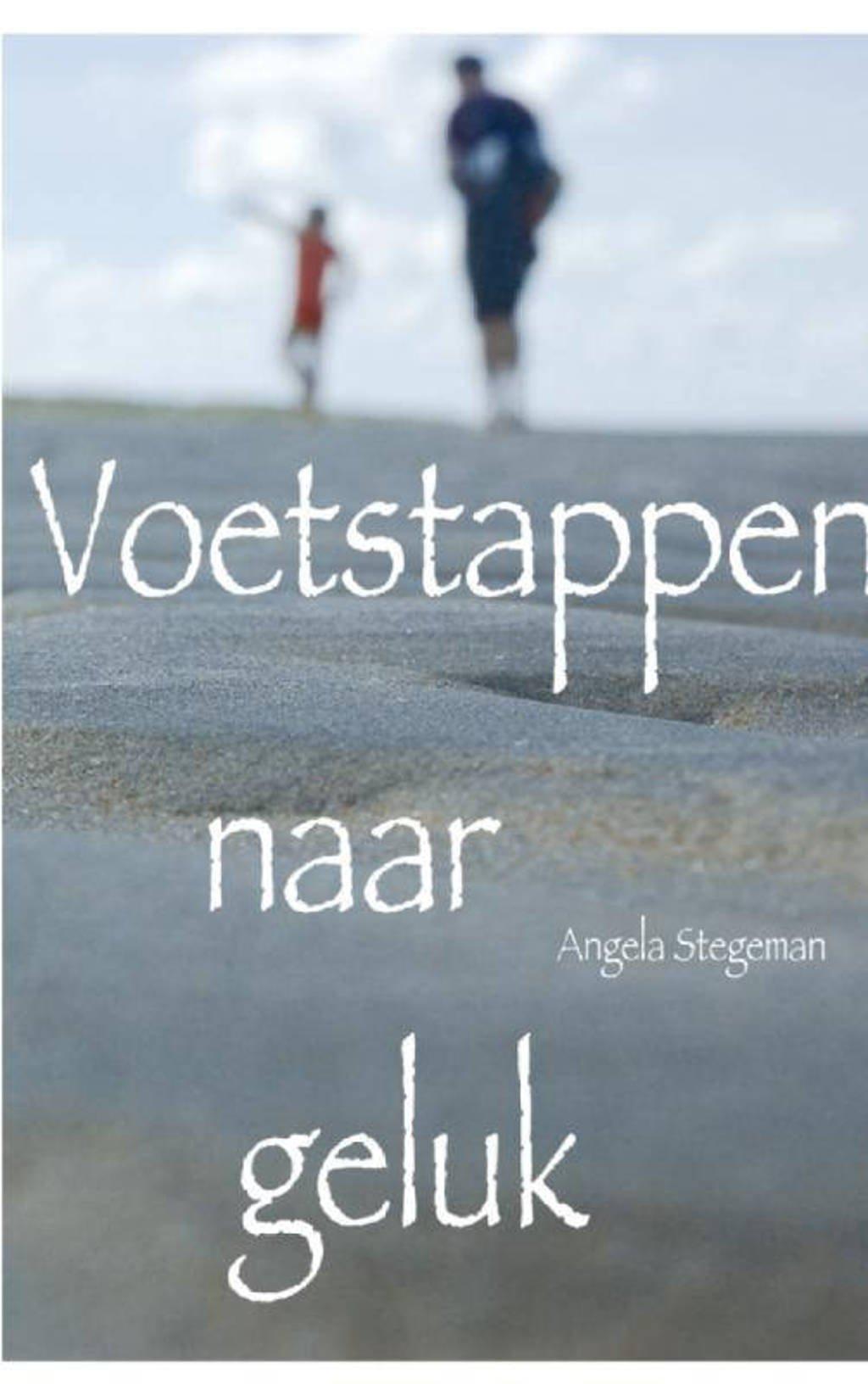 Voetstappen naar geluk - Angela Stegeman