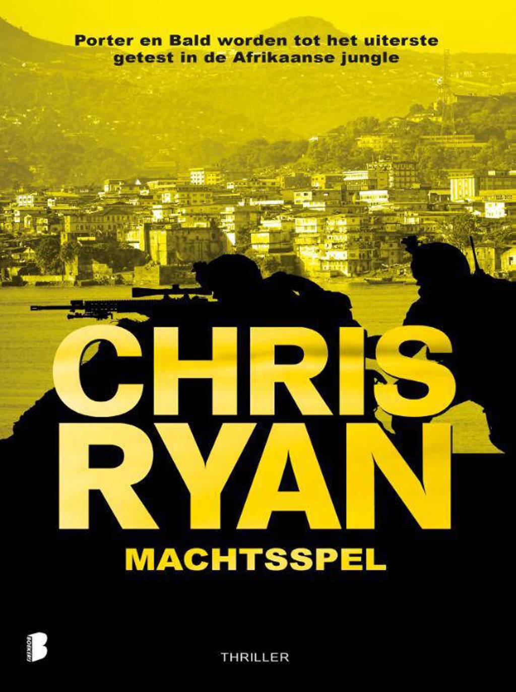 Machtsspel - Chris Ryan
