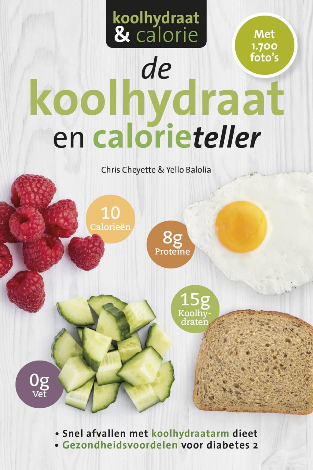De koolhydraten- en calorieteller - Chris Cheyette en Yello Balolia