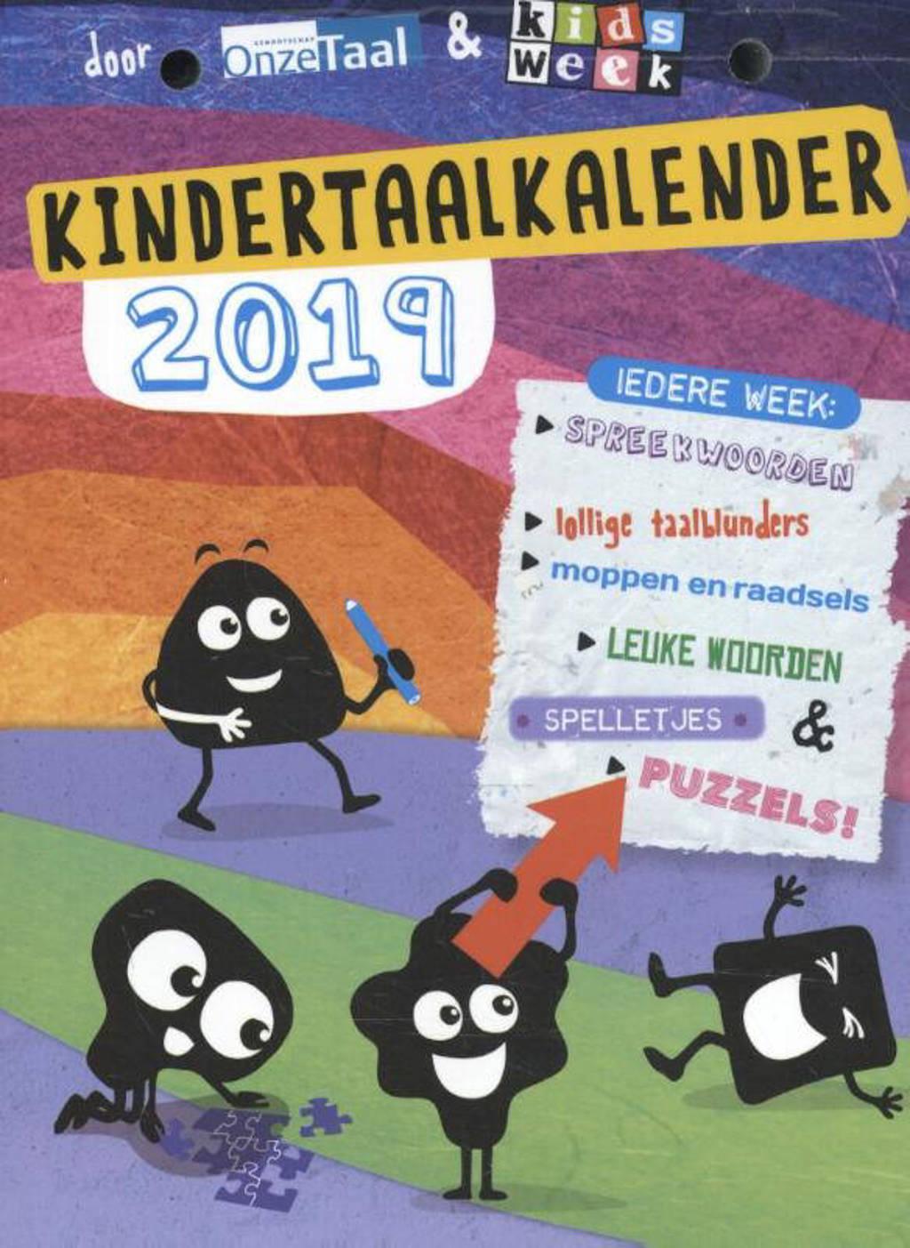 Kindertaalkalender 2019 - Genootschap Onze Taal