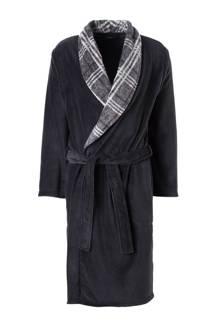 badjas fleece antraciet