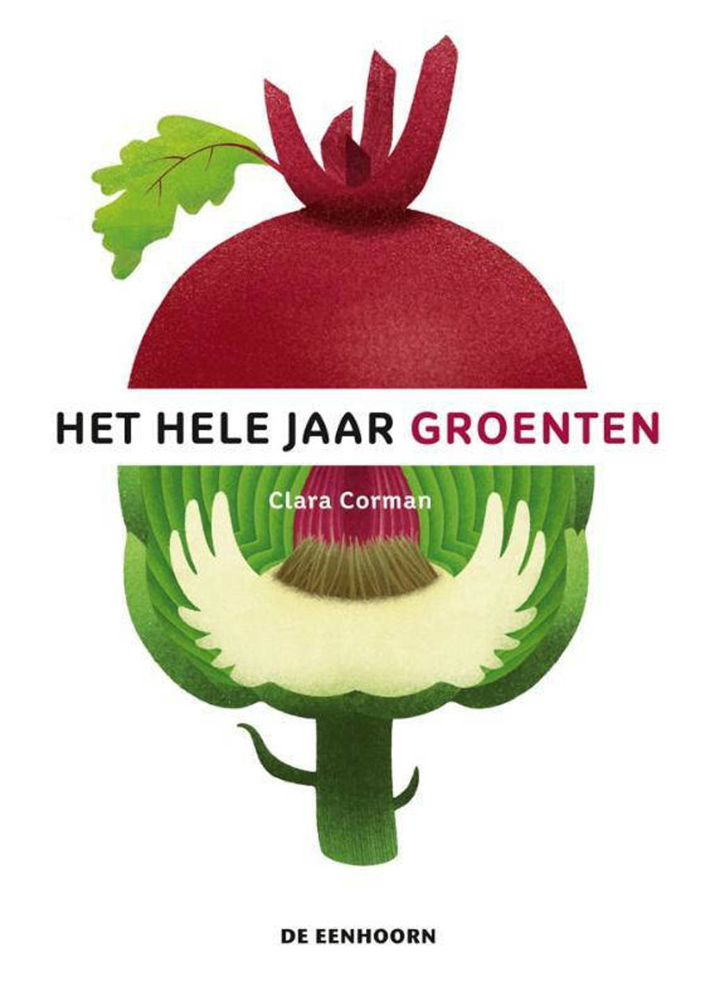 Het hele jaar groenten - Clara Corman