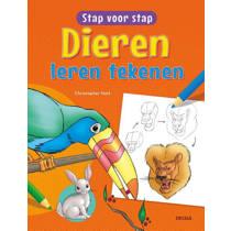 Stap voor stap: Dieren leren tekenen - Christopher Hart