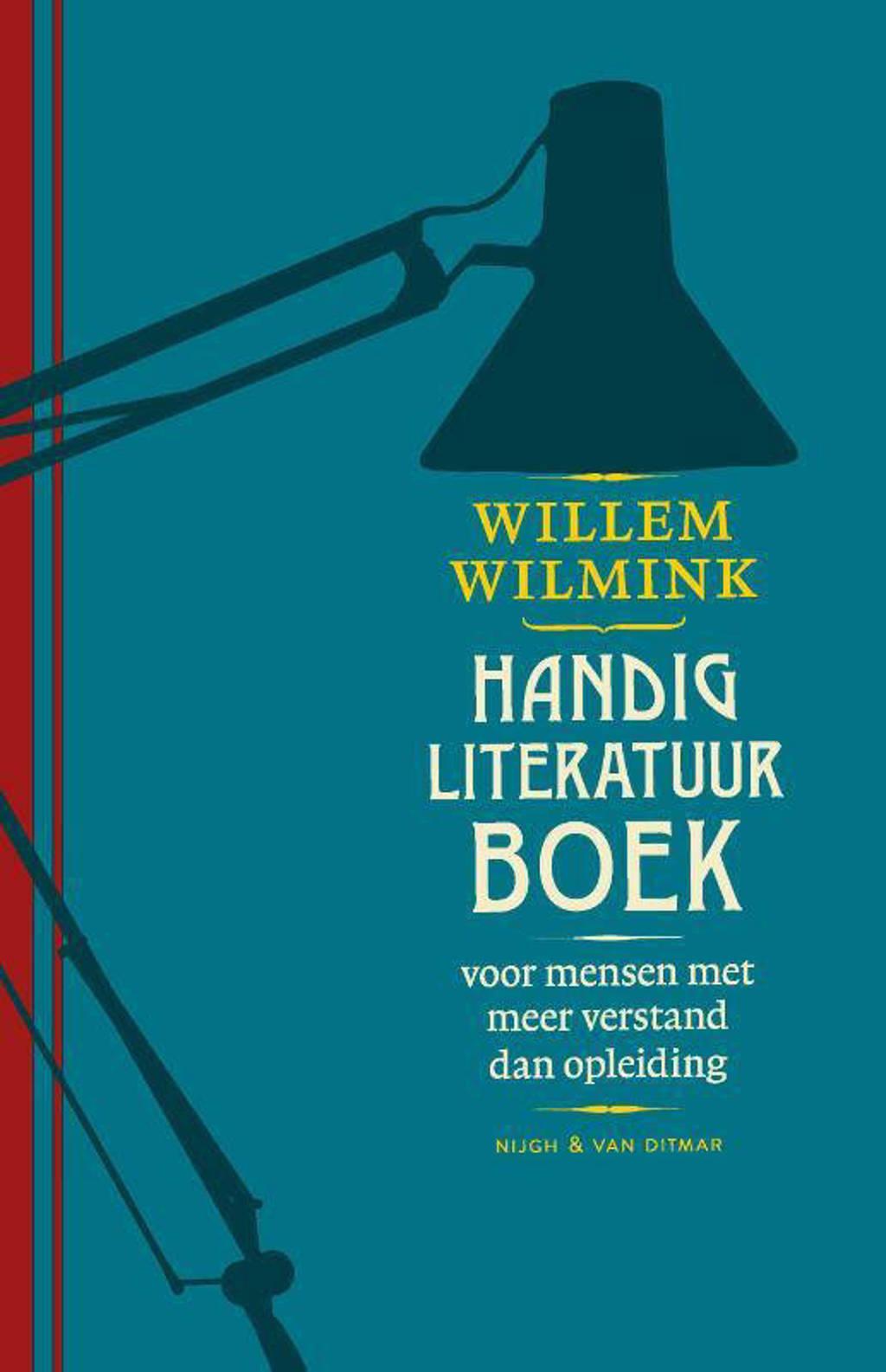 Handig literatuurboek - Willem Wilmink