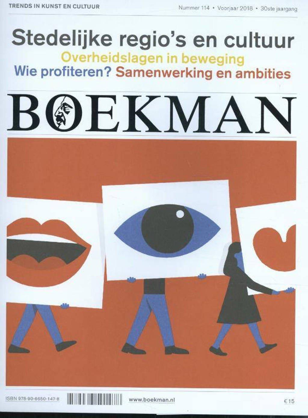 Boekman: Stedelijke regio's en cultuur 114