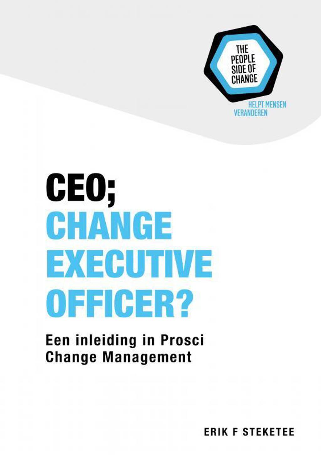 CEO; Change Executive Officer? - Erik F. Steketee