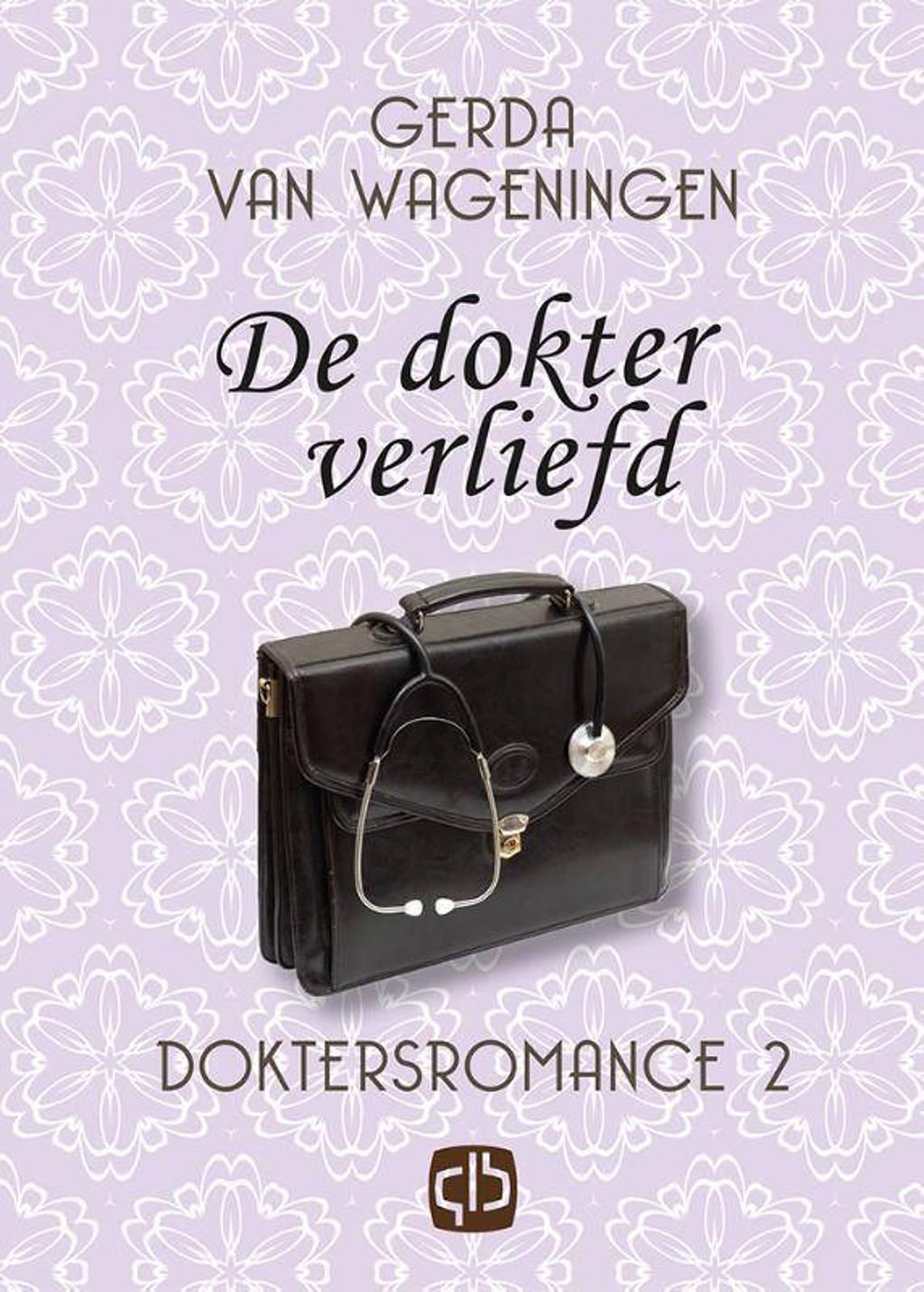 De dokter verliefd - grote letter uitgave - Gerda van Wageningen
