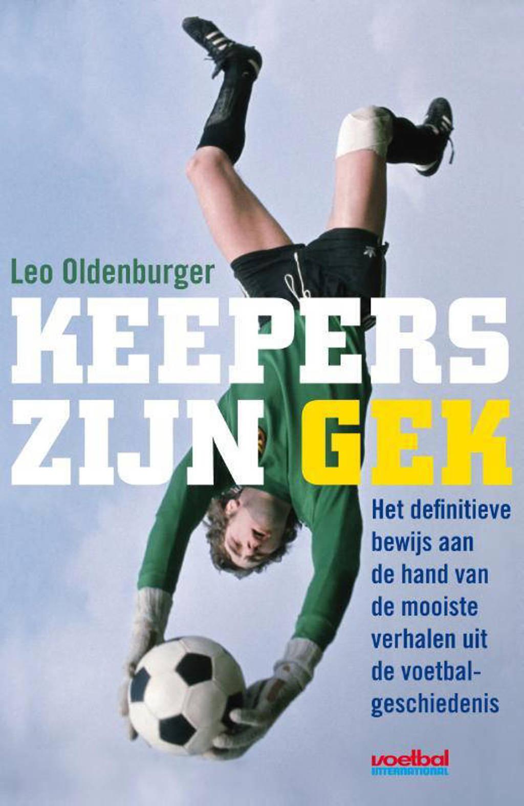 Keepers zijn gek - Leo Oldenburger