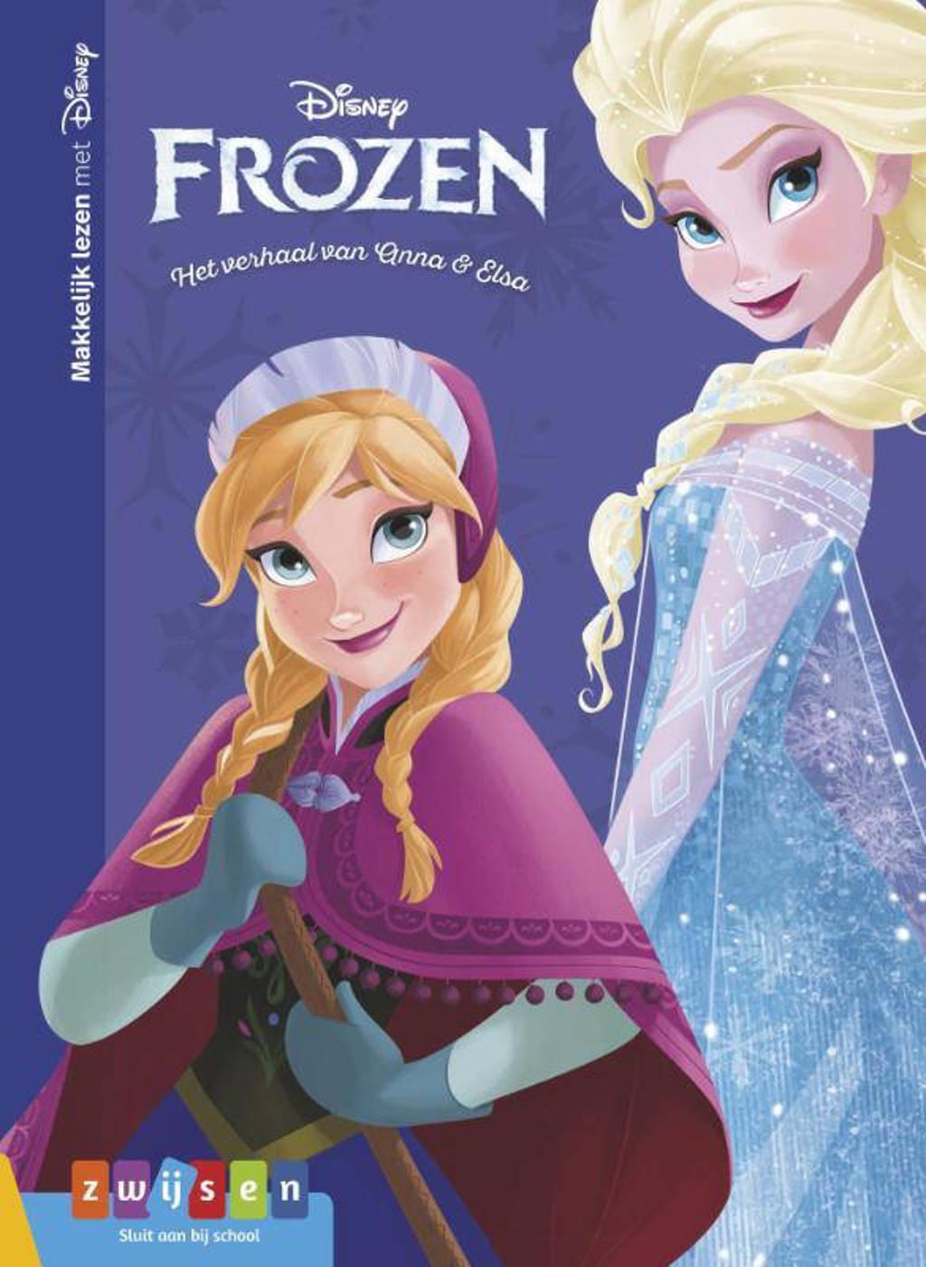 Makkelijk lezen met Disney: Frozen Het verhaal van Anna en Elsa
