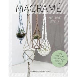 Macramé nieuwe stijl! - Stefanie van Wendel de Joode