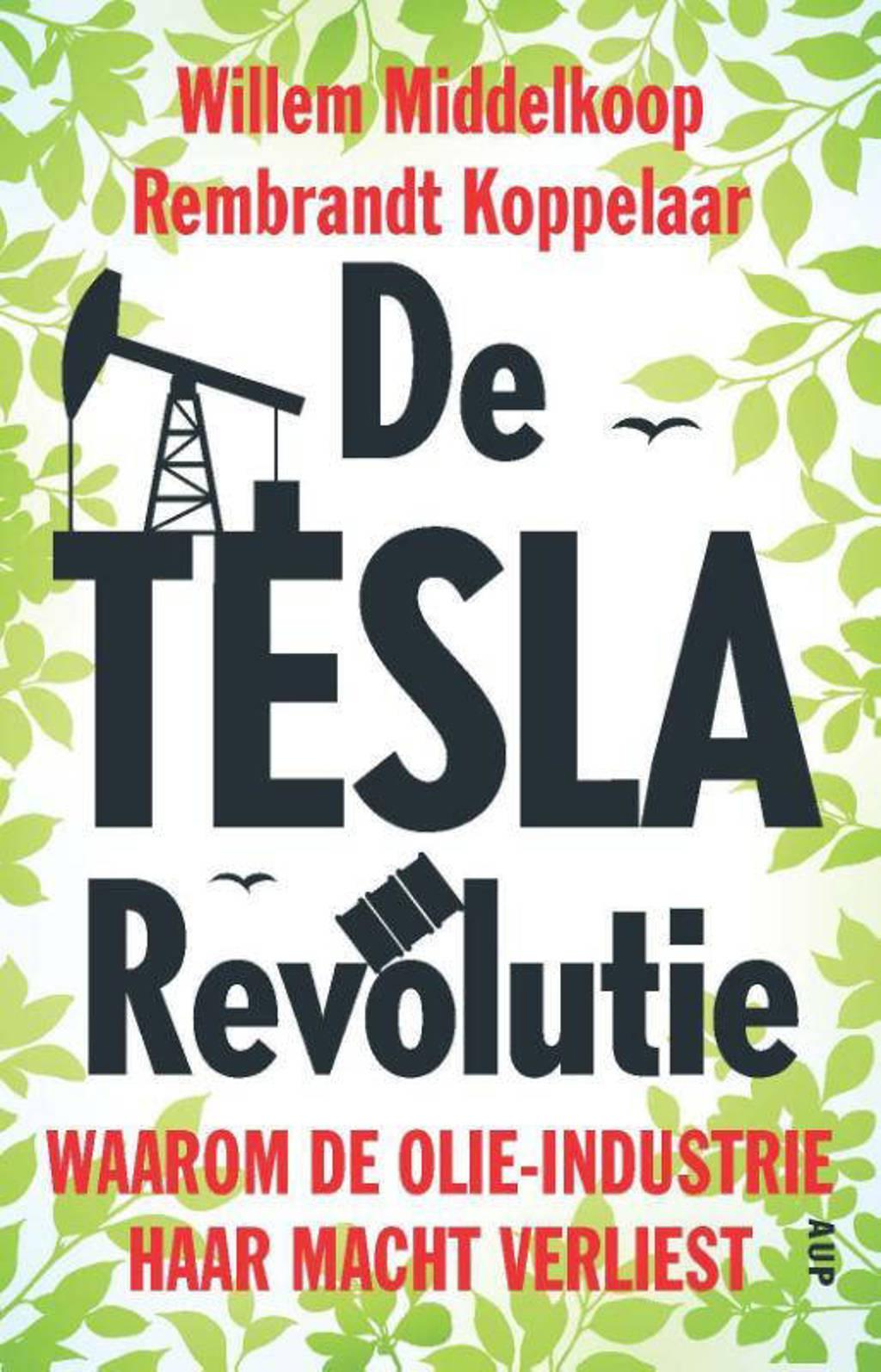 De TESLA revolutie - Willem Middelkoop en Rembrandt Koppelaar