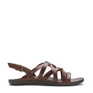 Awe Awe  leren outdoor sandalen bruin