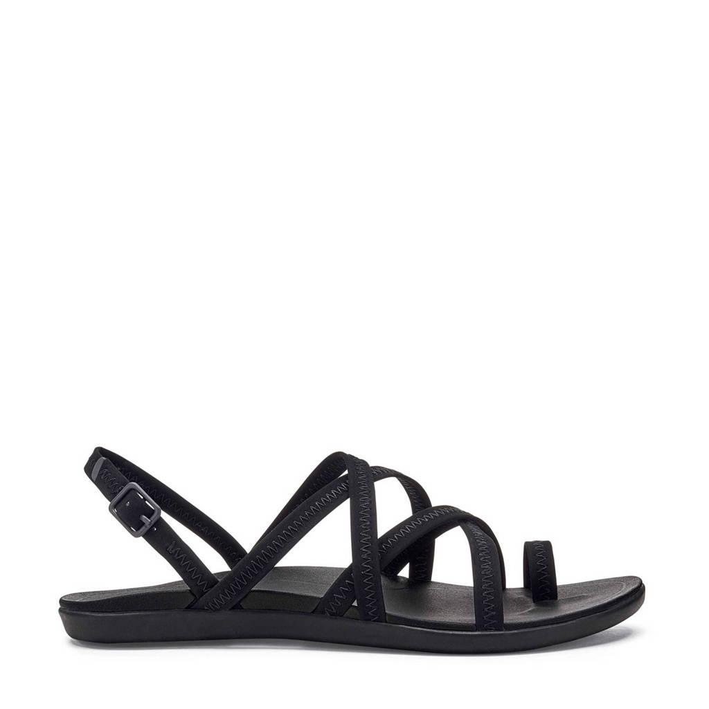 Olukai   Kalapu outdoor sandalen, Zwart