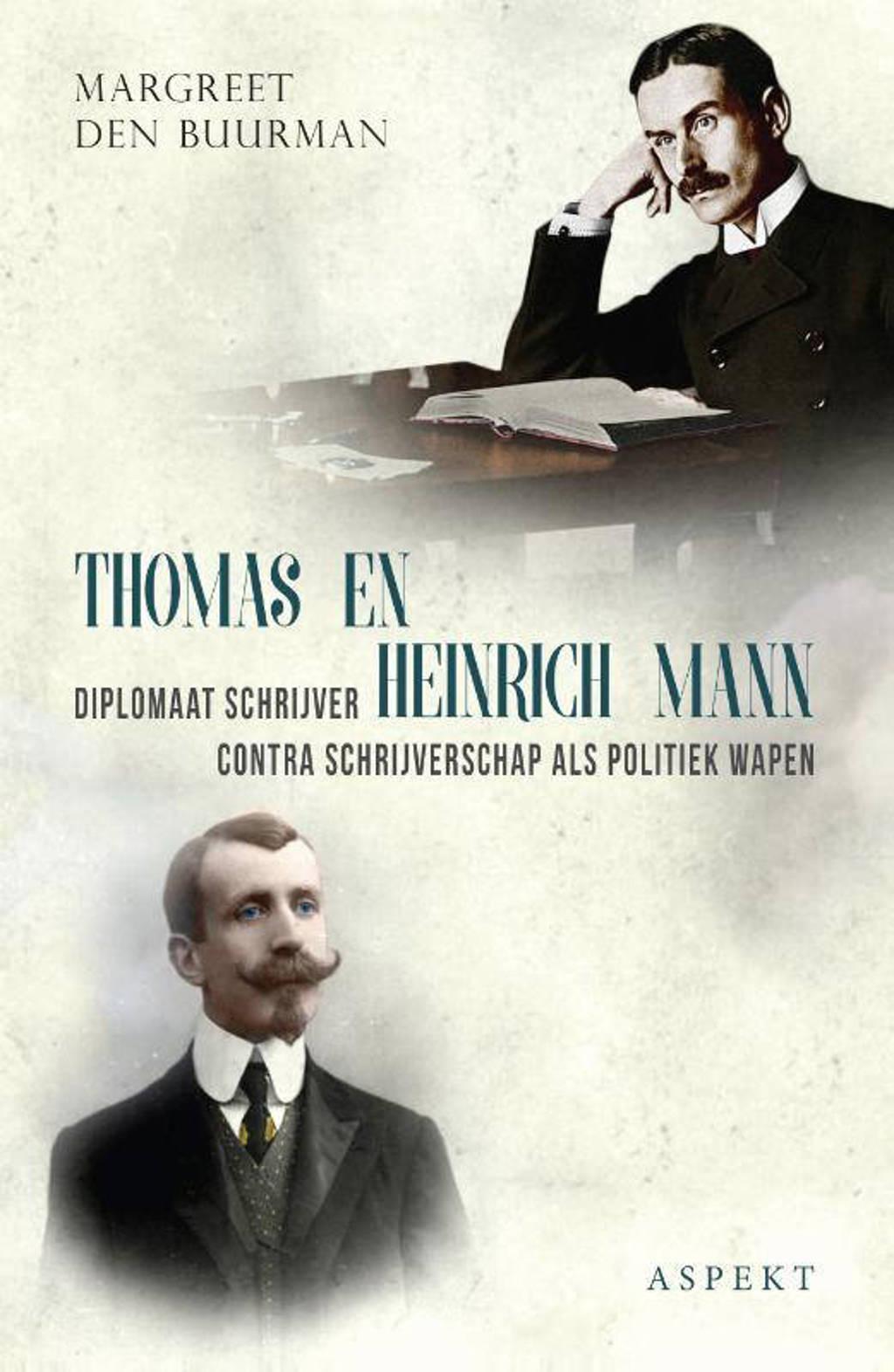 Thomas en Heinrich Mann - Margreet den Buurman