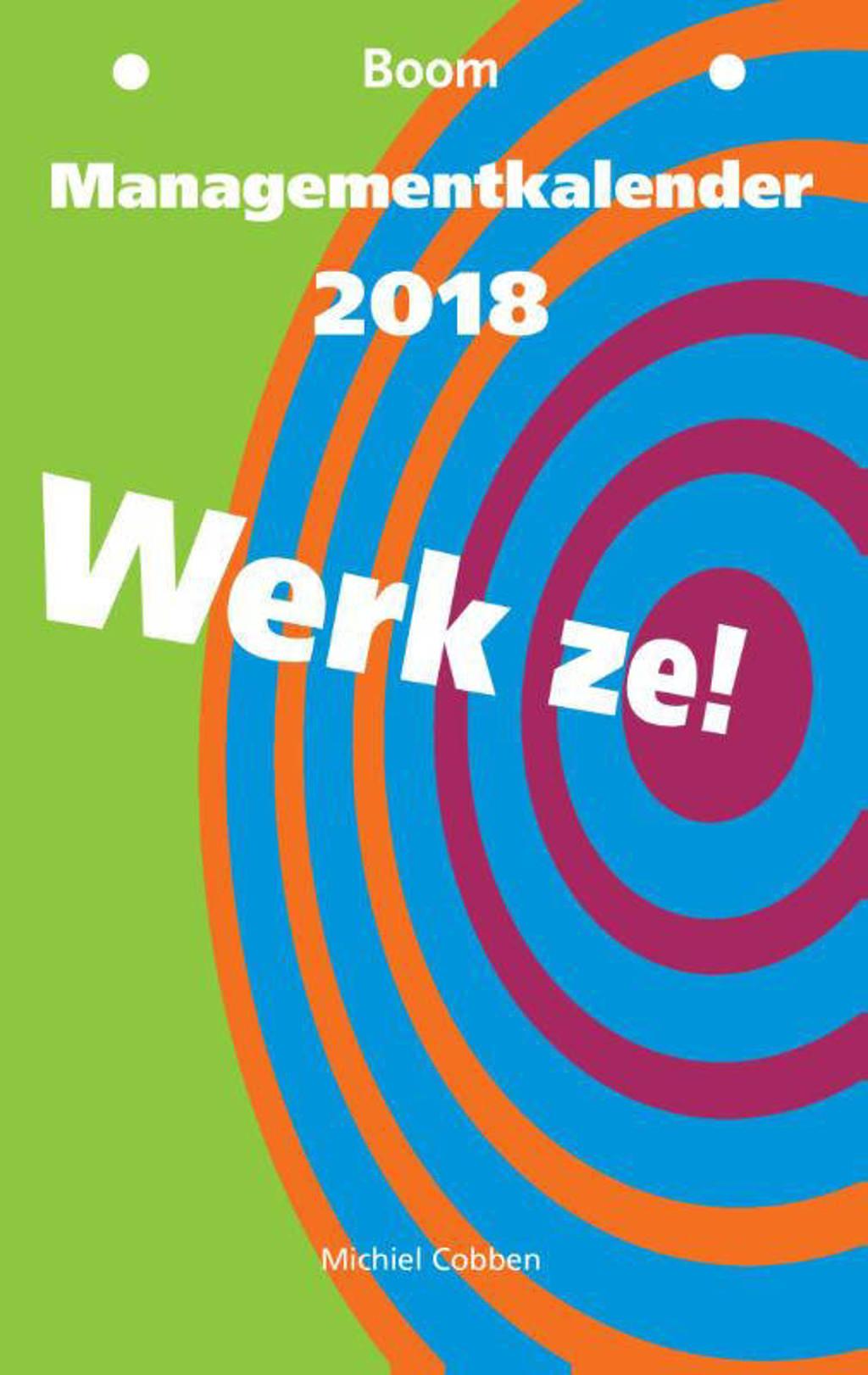 Managementkalender 2018 - Michiel Cobben