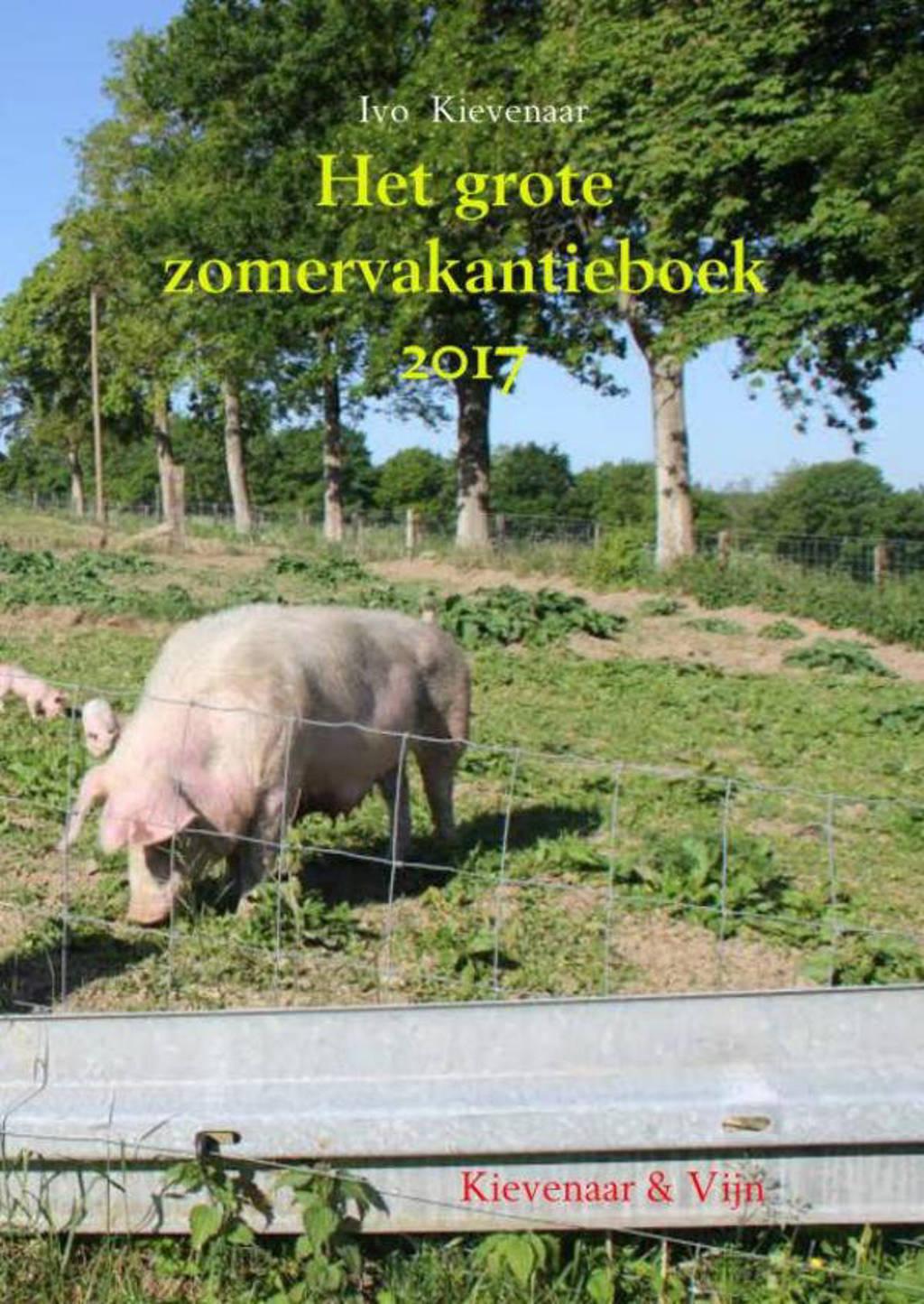 Het grote zomervakantieboek 2017 - Ivo Kievenaar