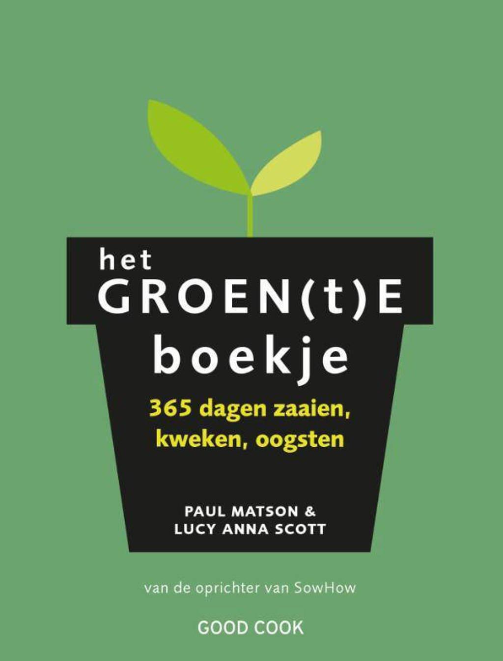 Het groen(t)e boekje - Paul Matson, Lucy Anna Scott en
