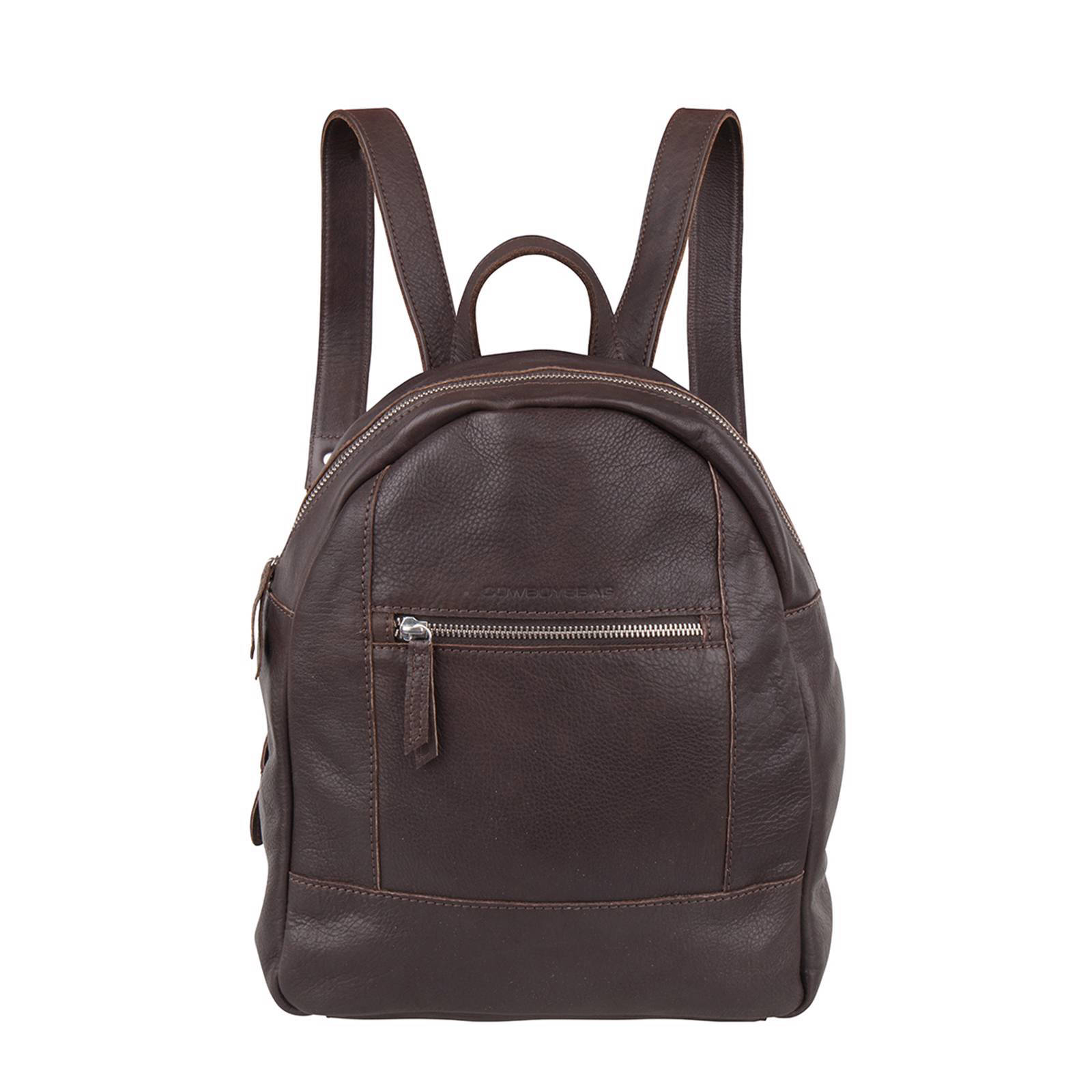 7e1e8402302 Cowboysbag leren rugzak Backpack Georgetown | wehkamp