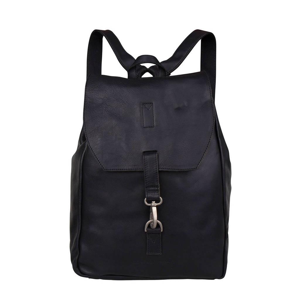Cowboysbag  15.6 leren rugzak Backpack Tamarac, Zwart