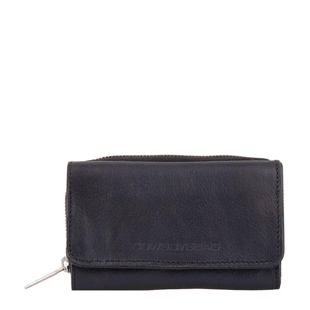 Cowboysbag leren portemonnee Purse Warkley, 100 - Black