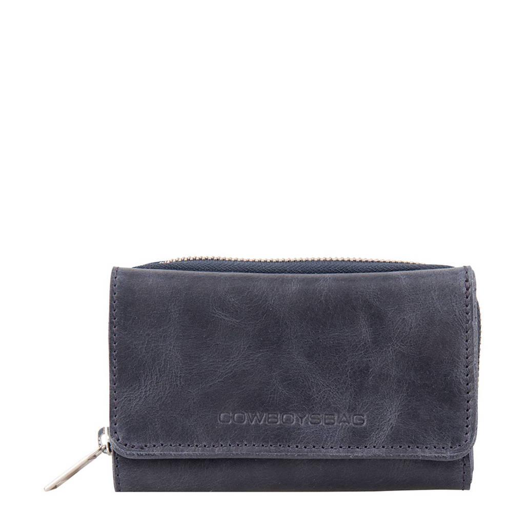 Cowboysbag leren portemonnee Purse Warkley, 820 - Dark Blue