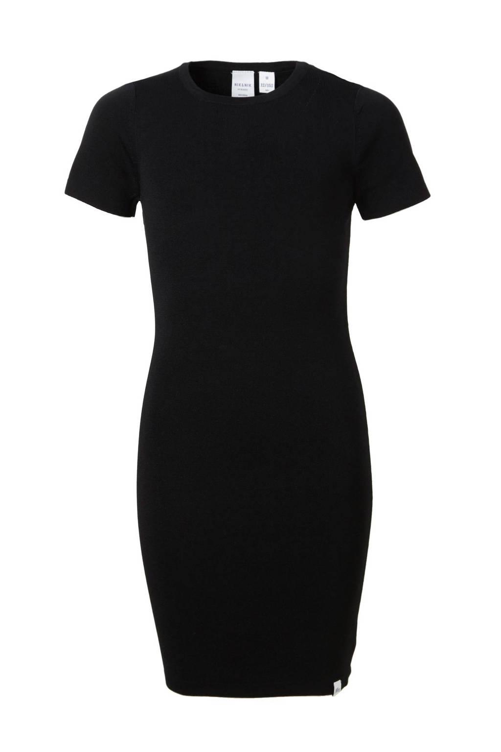 NIK&NIK jurk Jolie zwart, Zwart