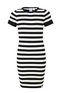 NIK&NIK jurk Jolie zwart/offwhite, Zwart/offwhite