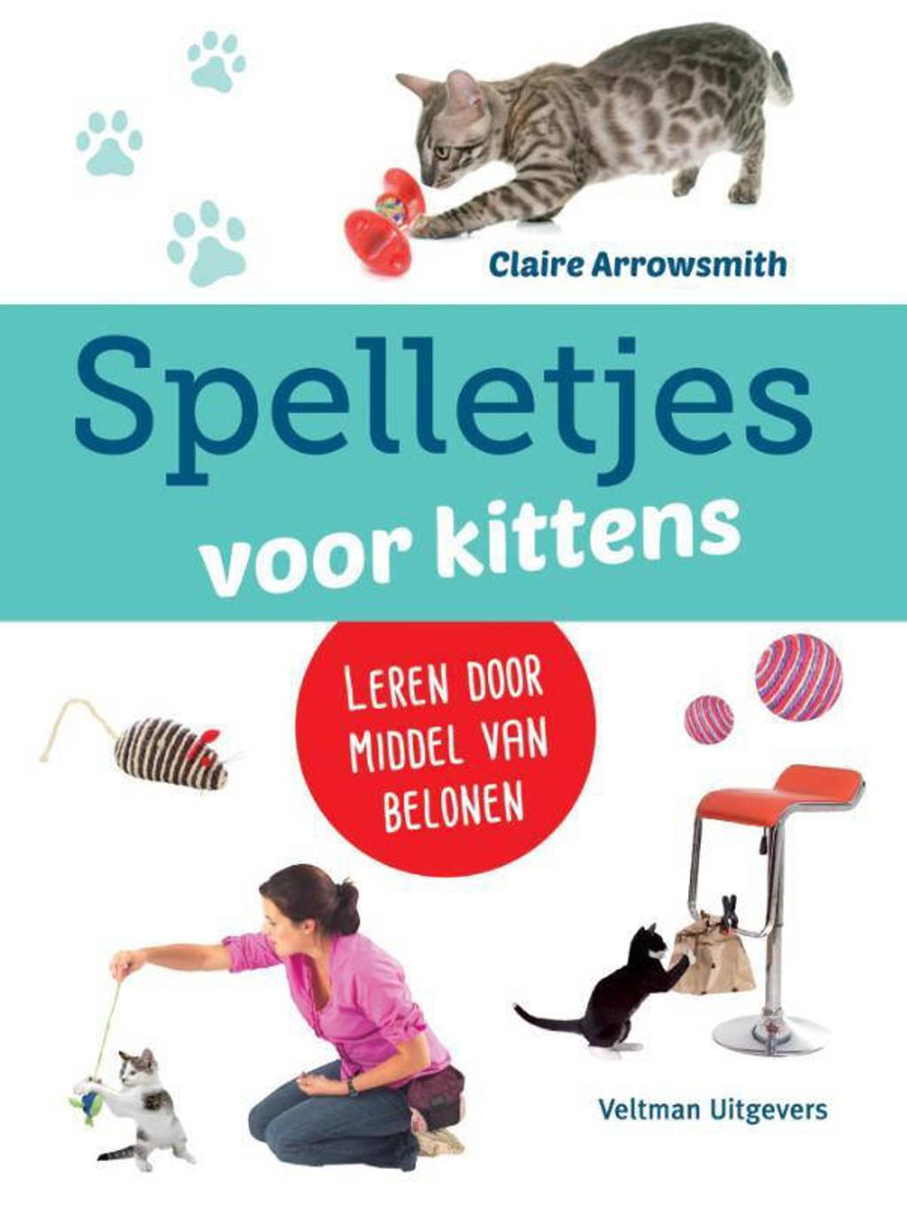 Spelletjes voor kittens - Claire Arrowsmith