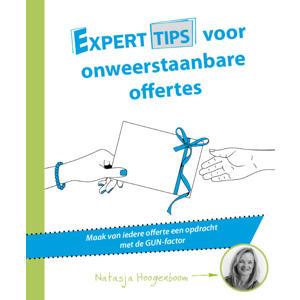 Experttips boekenserie: Experttips voor onweerstaanbare offertes - Natasja Hoogenboom