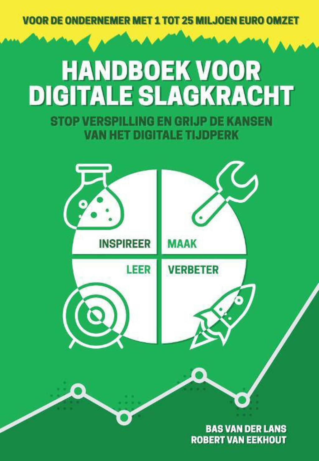 Handboek voor Digitale slagkracht - Bas van der Lans en Robert van Eekhout