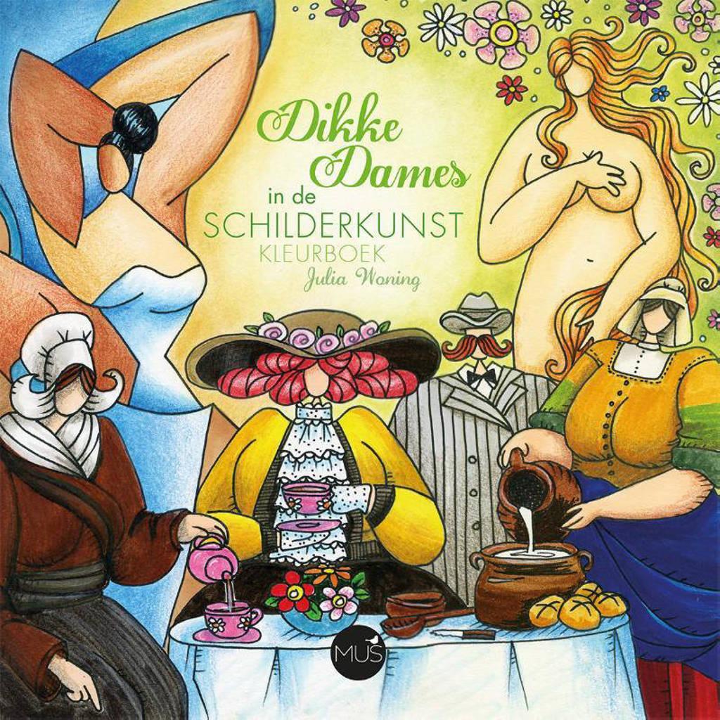 Dikke Dames in de schilderkunst kleurboek - Julia Woning
