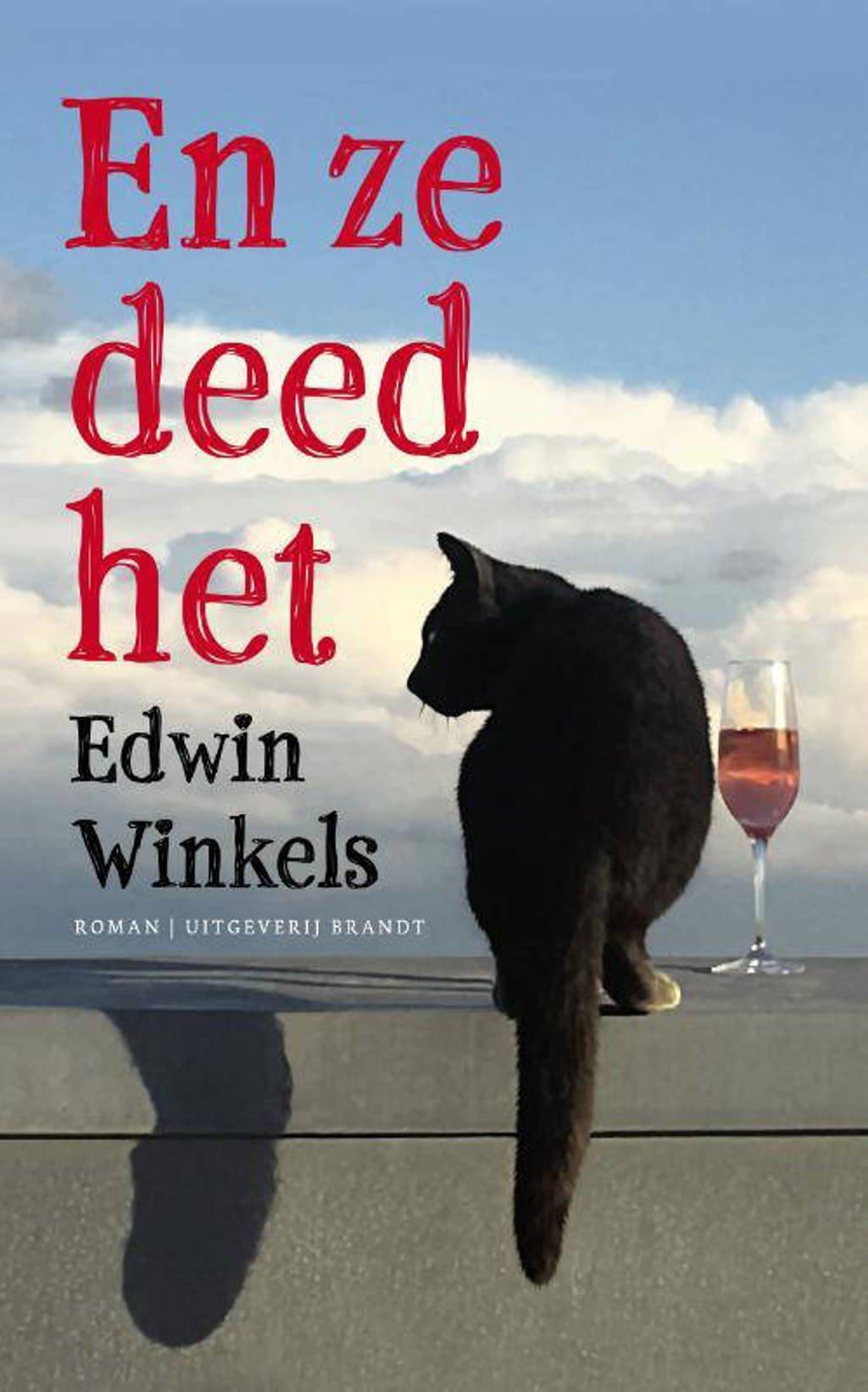 En ze deed het - Edwin Winkels
