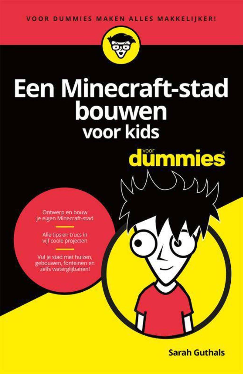 Voor Dummies: Een Minecraft-stad bouwen voor kids voor dummies - Sarah Guthals