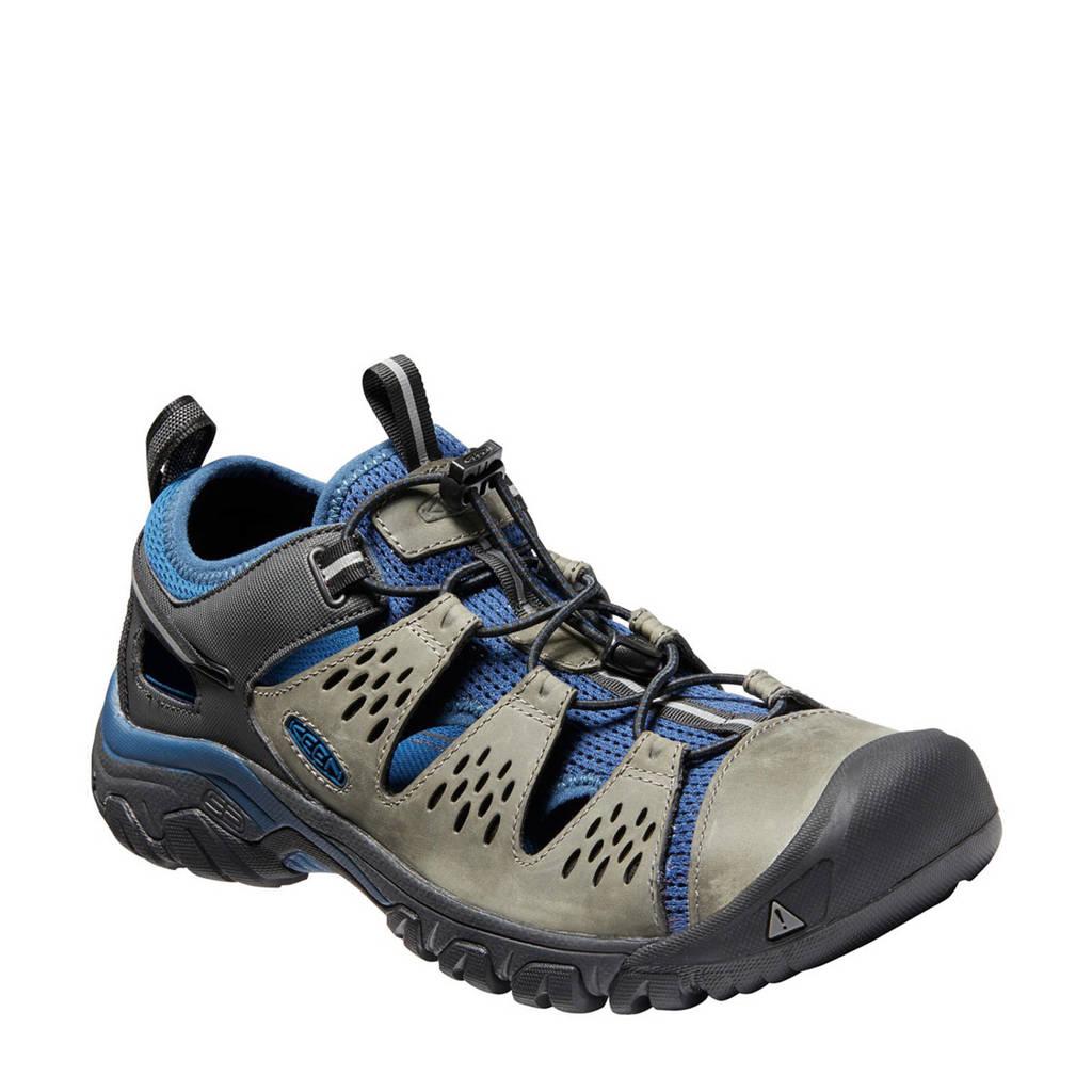 Keen   Arroya III nubuck outdoor sandalen, Grijsblauw
