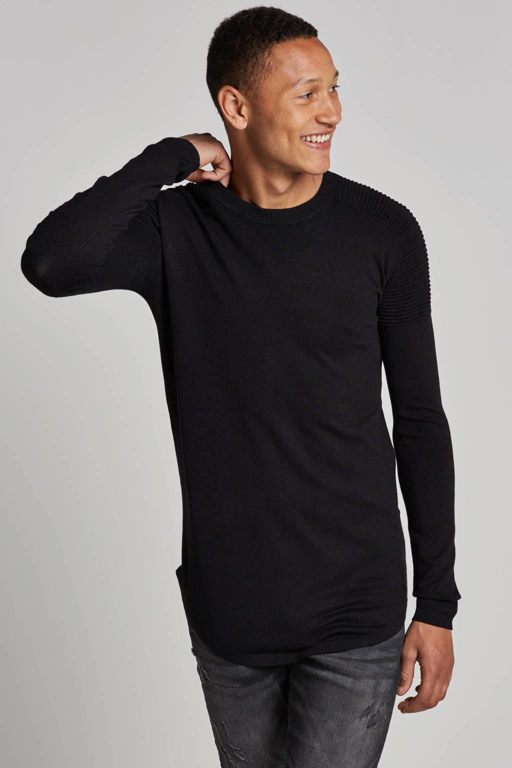 Purewhite Essential knit, Zwart