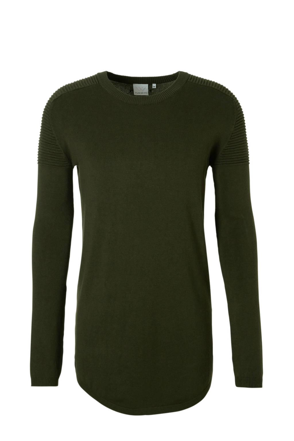 Purewhite Essential knit, Groen
