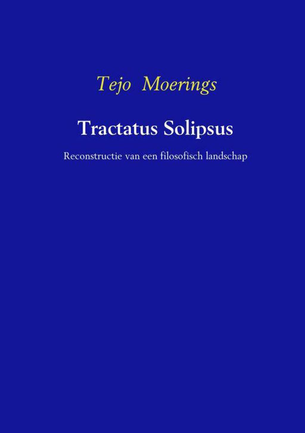 Tractatus Solipsos - Tejo Moerings