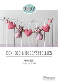 Box, bed en buggyspeeltjes haken - Joke Postma