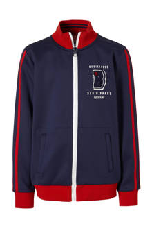 sweatvest Japan donkerblauw