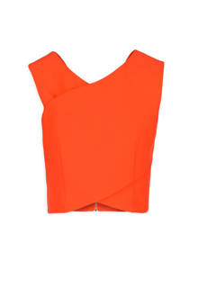 Georgia May Jagger crop top oranje